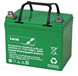Lucas VRLA/AGM Golf Equipment Battery 12V 34AH