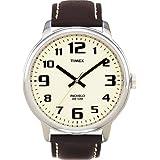 Timex Original T28201 PF Men's Analog Quartz Watch with Brown Leather Strapby Timex Classic