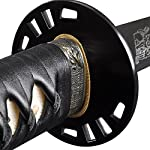 Handmade Sword - 1095 Steel Fully Hand Forged Temper Practical Samurai Katana Sword, Clay