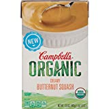 Campbell's Organic Soup, Creamy Butternut Squash, 17 Ounce (Pack of 8)