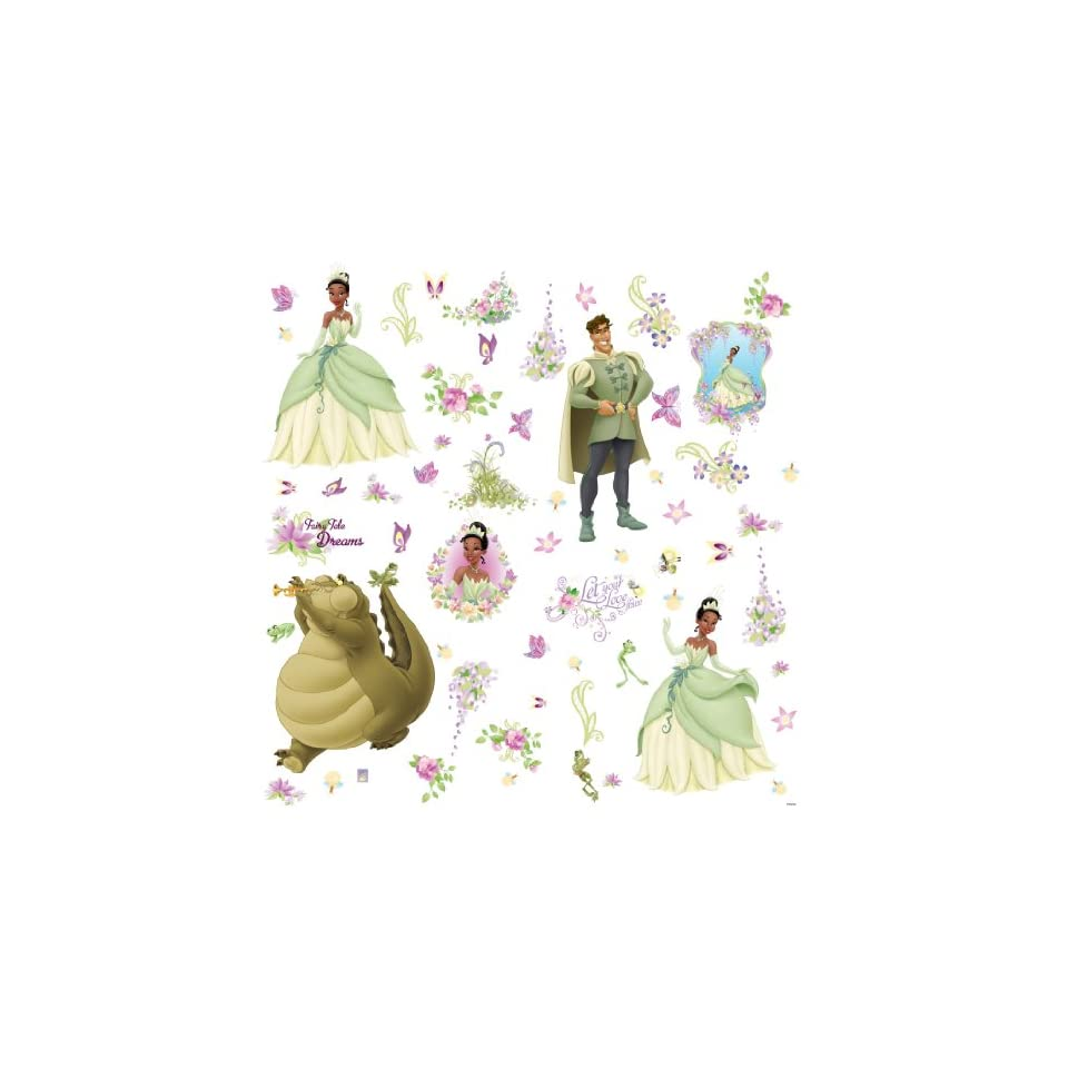 RoomMates RMK1423SCS the Princess and the Frog Wall Decals