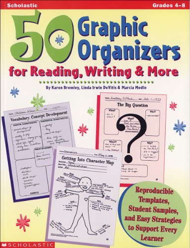 50 Graphic Organizers for Reading, Writing & 