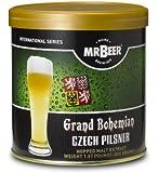 Mr. Beer Grand Bohemian Czech Pilsner Home Brewing Beer Refill Kit