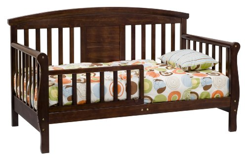 Cheapest Price! DaVinci Elizabeth II Convertible Covertible Toddler Bed in Espresso