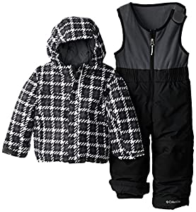 Columbia Little Boys' Toddler Frosty Slope Set, Graphite Print, 4T
