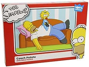 Paul Lamond Simpsons Puzzle Couch Potato (1000 Pieces)
