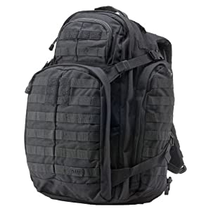 5.11 3 Day Rush Backpack, Black