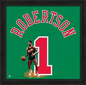 Oscar Robertson Milwaukee Bucks 20X20 Uniframe Photo by Photo File
