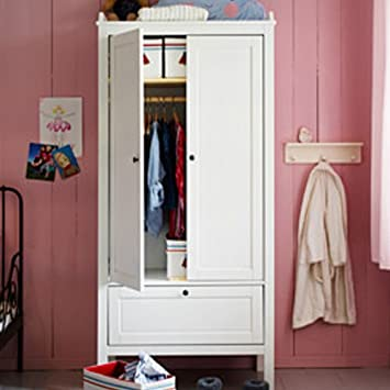Ikea Sundvik Wardrobe Nursery Room White