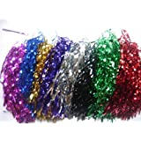 1 Pair Cheerleading pom poms-10 Different Colours