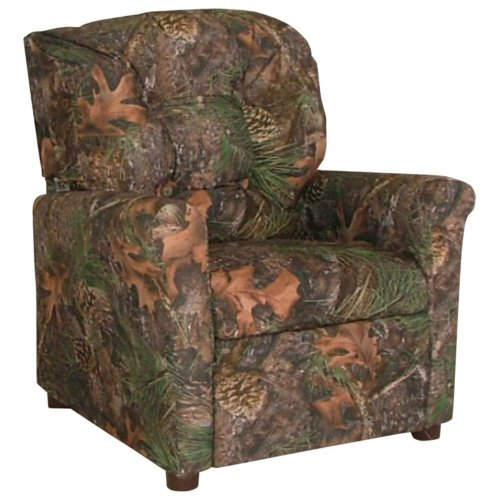 "4 Button Child Recliner Chair (Camouflage) (27"" H X 22"" W X 20"" D) front-1002879"
