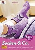 Socken & Co: Schnell gestrickt von der Spitze bis zum Schaft