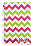 2013-2014 bloom Academic Year Daily Day Planner Fashion Organizer Agenda August 2013 Through July 2014 Pink & Green Chevron
