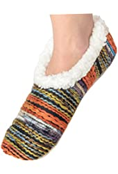 Womens Artisan Yarn Sherpa Snoozies Footcoverings