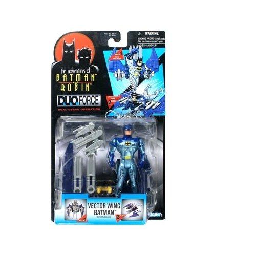 Batman: The Adventures of Batman and Robin Duo-Force Vector Wing Batman Action Figure - 1
