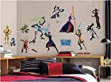 Star Wars: The Clone Wars (Glow-in-the-Dark) Peel & Stick Wall Appliques Set