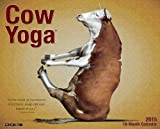 Cow Yoga 2015 Wall Calendar