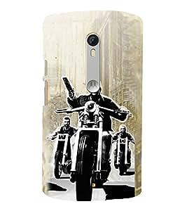 Vizagbeats Goons on bikes Back Case Cover for Motorola Moto X style