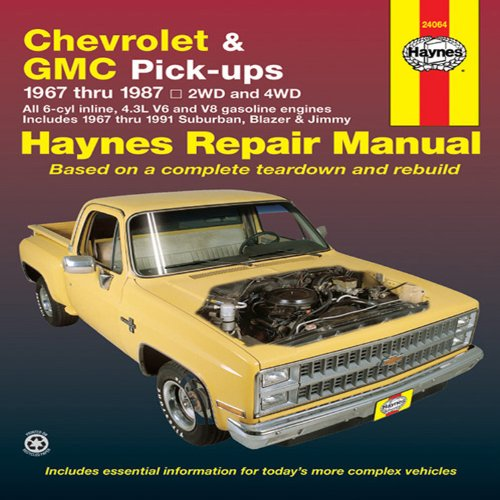 Chevrolet & GMC Pick-ups, 1967 Thru 1987 (Haynes Repair Manual) (Chevy Trucks For Sale compare prices)