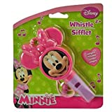 Disney Jr. Minnie MOuse Bow-Tique Whistle With Attached Lanyard! Perfect Stocking Stuffer For Your Disney Fan!