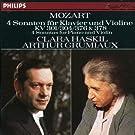 Mozart : Quatre sonates pour piano et violon