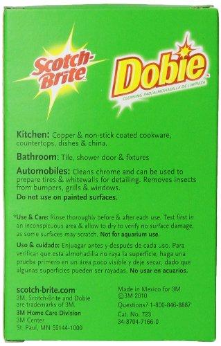 3m Scotch Brite Dobie All Purpose Pad 3 Count Home Garden