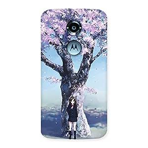 Premier Cherry Blossom Multicolor Back Case Cover for Moto X 2nd Gen