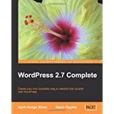 Wordpress 2.7 Completeby April Hodge Silver