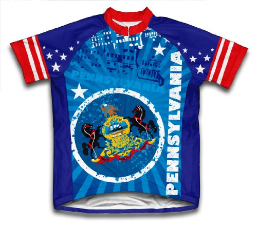 Buy Low Price Pennsylvania Cycling Jersey for Men (01-JSS-150-PM)
