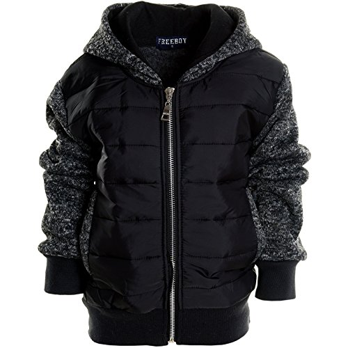 BEZLIT -  Felpa con cappuccio  - Camicia - Basic - Collo a U  - Maniche lunghe  - ragazzo nero 8 anni