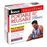 Kaz Smart Temp Portable Heat Pad/Reusable Cold Compress