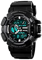 Skmei Analog-Digital Multicolor Dial Men's Watch -HMWA05S074C0