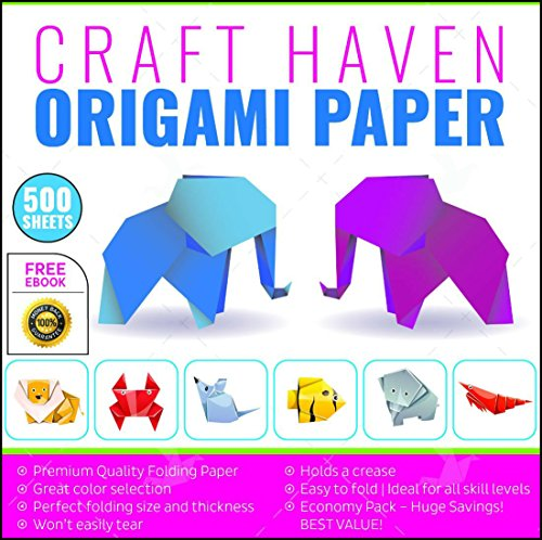Premium Origami Paper Best Quality 500 Sheets Paper Origami