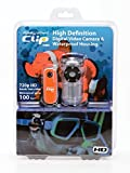 Easy Shot Clip HD Diving Kit - Ultra Mini Digital Video Camera with 100ft Waterproof Housing and Mask Clip included.