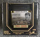 Racing Champions Premier NASCAR #28 Davey Allison Champion Forever Tribute Edition Alabama Gang Texaco Havoline Black Ford Thunderbird 1/64 1:64 Scale Car Limited Edition Individually Serialized On Back of Box