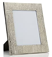 Hammered Metal Photo Frame 20 x 25cm (8 x 10