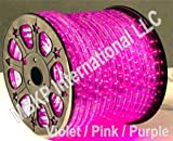 PURPLE PINK VIOLET 12 V Volts DC LED Rope Lights Auto Lighting 25 Meters(82 Feet)