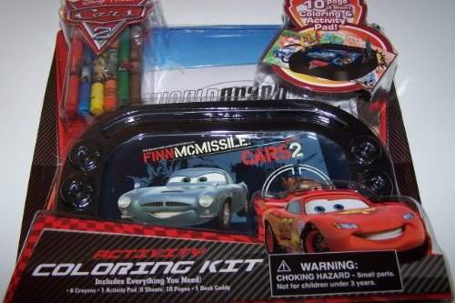 Disney Pixar Cars 2 Activity Coloring Kit