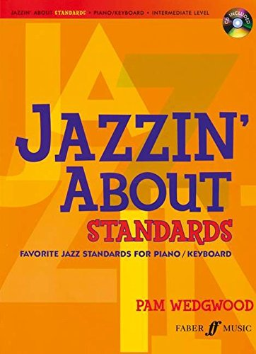 Jazzin' About Standards: Favorite Jazz Standards for Piano / Keyboard (Book & CD) (Jazzin The Blues compare prices)