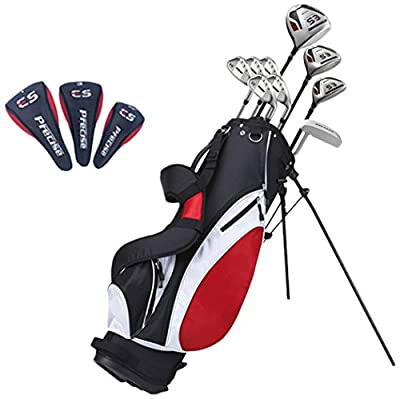 "Precise ES Men's Tall Complete Golf Club Set (+1""), Right Hand"
