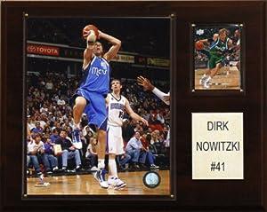 NBA Dirk Nowitzki Dallas Mavericks Player Plaque by C&I Collectables