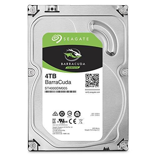 "Seagate ST4000DM005 HDD Interno da 3.5"", Nero"