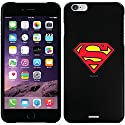 Superman - Emblem design on a Black iPhone 6 Plus Thinshield Snap-On Case