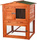 TRIXIE Pet Products Rabbit Hutch with Peaked Roof, Small