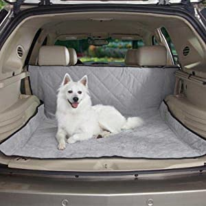 Guardian Gear Quilted Cargo Cover for Pets, Quarry