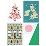 V&A Christmas Cards - V&A Printmakers (Pack of 12) ||RNWIT||EVAEX