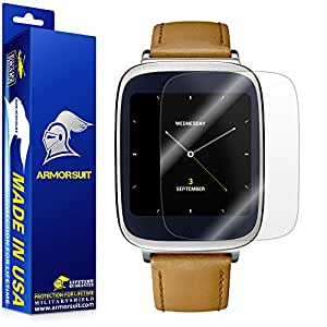 ArmorSuit MilitaryShield Asus ZenWatch Screen Protector [2 Pack] Anti Bubble and Extreme Clarity HD Shield