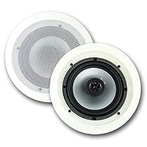 """2) NEW VM AUDIO VMIS6 6.5"""" 300 Watt 2 Way In Ceiling/Wall Surround Home Speakers"""