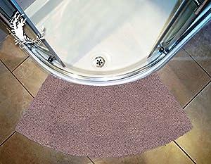 cazsplash luxury quadrant stone colour curved shower mat. Black Bedroom Furniture Sets. Home Design Ideas