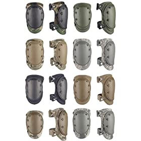 ALTA AltaLok Knee Pads Fastener Closure Neoprene/Nylon Rubber 1 Pair,
